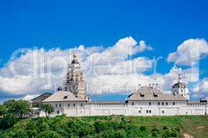 Beautiful Stone Bogoroditse-Uspensky Monastery.