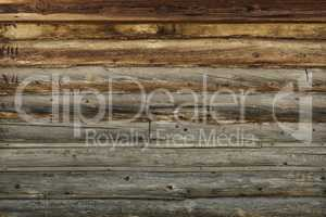Old Wooden Wall.