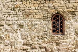 Weathered Wall with Window.