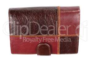 Leather Purse Isolated