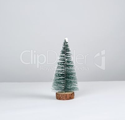 Christmas decor New Year tree on a white background