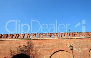 Kremlin wall background