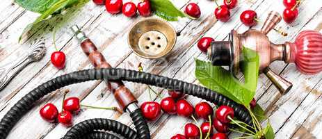 Shisha with tobacco taste of cherry