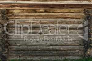 Old and Weathered Wooden Wall