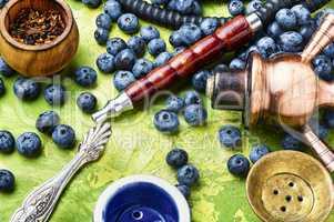 Arabia shisha with blueberry tobacco