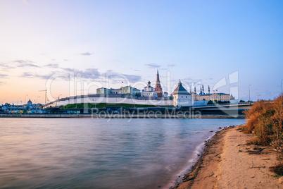 Sunrise at the Kazan Kremlin