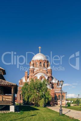 Church of the Theotokos Joy of All Who Sorrow in City-Island Sviyazhsk.