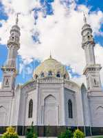 Beautiful White Mosque.