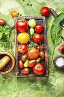 Autumn tomato preservation