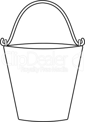 Outlines of bucket