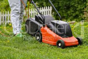Mowing machine / Mowing the lawn