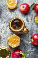 Fresh apple jam