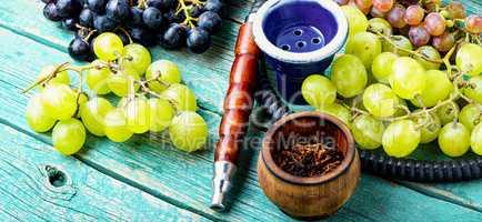 Shisha with grapes flavor