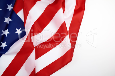 national textile flag of United States of America