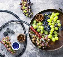 Shisha with grapes flavor