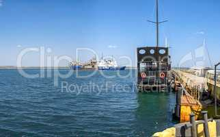 Pirate pleasure ship in Odessa