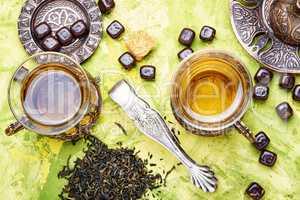 Traditional arabic tea
