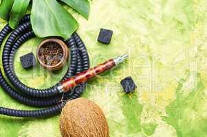 Oriental smoking hookah