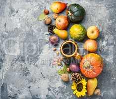 Beautiful autumn composition