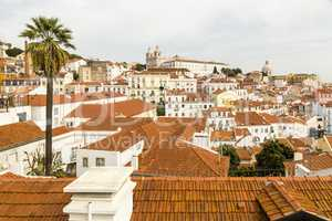 Blick auf die Altstadt, Lissabon, Portugal, view of the old town, Lisbon, Portugalview of the old town, Lisbon, Portugal