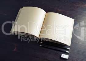 Kraft paper brochure