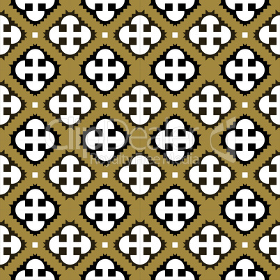 Abstract seamless geometrical tiles pattern