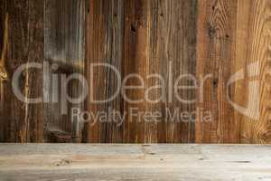Brown Wooden Vintage Or Rustic Backround Or Texture