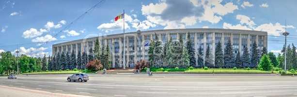 Government House in Chisinau, Moldova