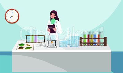 doctor working in a laboratory