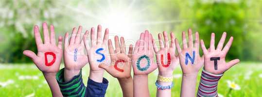 Children Hands Building Word Discount, Grass Meadow