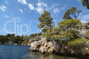 Channel of St. Anthony near Sibenik, Croatia
