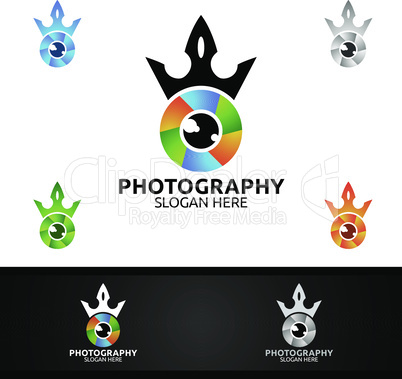 King Camera Photography Logo