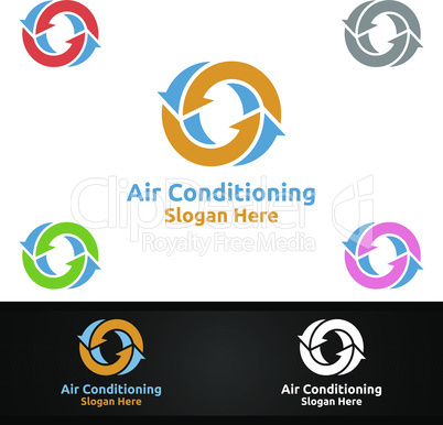 Air Conditioning and Heating Services Logo