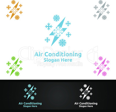 Thunder Snow Air Conditioning and Heating Services Logo