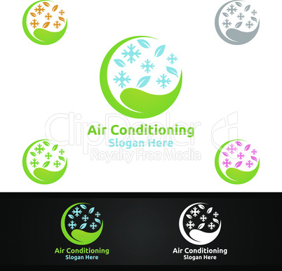 Green Snow Air Conditioning and Heating Services Logo