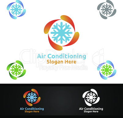Snow Air Conditioning and Heating Services Logo