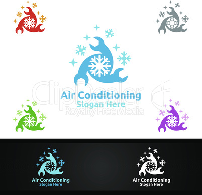 Fix Snow Air Conditioning and Heating Services Logo
