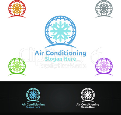 Global Snow Air Conditioning and Heating Services Logo