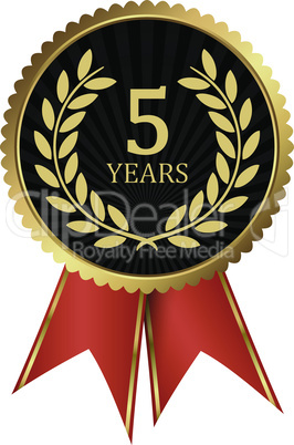 laurel wreath medal for jubilee years